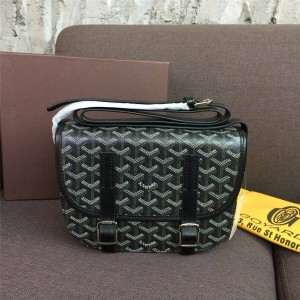 Goyard official website classic unisex small flap messenger bag