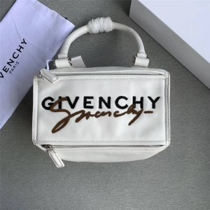 Givenchy new women's embroidered letters Pandora crossbody bag