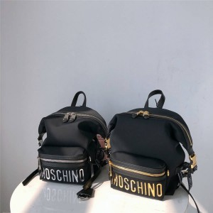 Moschino official website new ladies nylon space cotton backpack