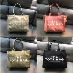 Marc Jacobs/MJ new canvas PEANUTS shopping bag tote bag