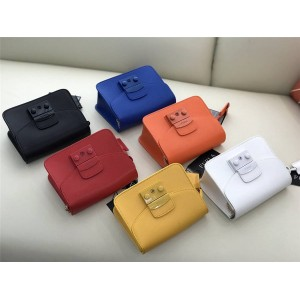 Furla's new metropolis series matte frosted small square bag