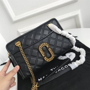 Marc Jacobs MJ new The Round Crossbody shoulder bag