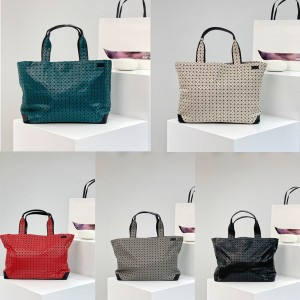 ISSEY MIYAKE men's and women's casual shoulder handbag shopping bag