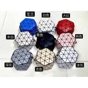 ISSEY MIYAKE new crystal ball bag round cake hexagonal crossbody bag