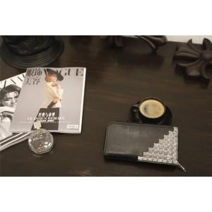 Chrome hearts ch 925 silver pyramid 36 crucible long zipper wallet