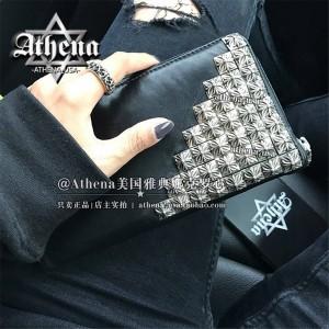Chrome hearts ch official website 925 silver 36 nail long zipper wallet