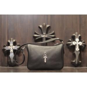 Chrome hearts ch official website 925 silver sword dagger Leather Shoulder Bag