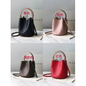 Marni official website women's new ring pannier bucket bag