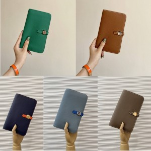 Hermes official website long togo leather Dogon Duo passport wallet