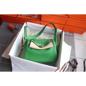 Hermes Taurillon Clemence TC leather Lindy 26 handbag