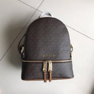 Michael Kors mk women's fine grain presbyopia Rhea Zip backpack