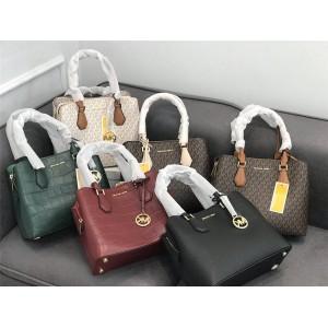 Michael Kors mk SAFFIANO Camille old floral leather handbag