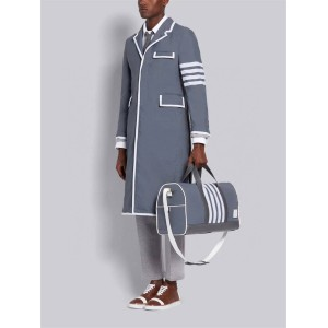 THOM BROWNE TB men's bag new nylon striped travel bag