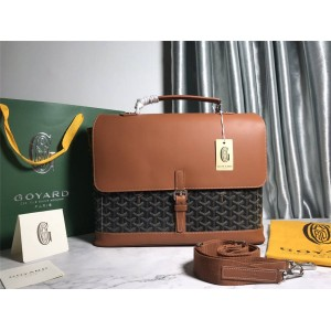 Goyard men's bag classic Citadin messenger bag briefcase