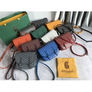 Goyard classic Belvedere generation small messenger bag