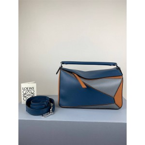 LOEWE Colorblock Puzzle 29 Medium Handbag Geometry Bag