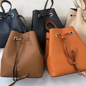 Furla Women's Drawstring Crossbody Costanza Medium Bucket Bag