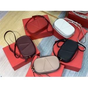 Valentino new Vlogo Walk leather crossbody bag