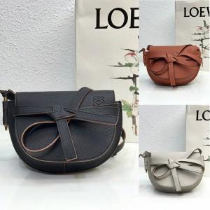 loewe official website new MINI Gate dual handbag saddle bag