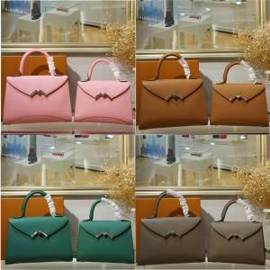 Moynat new female bag Gabrielle series M lock bag