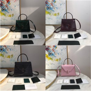Valextra official website handbags crocodile pattern Superbags handbags
