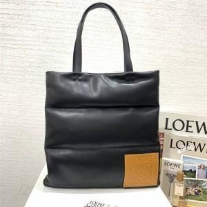 loewe men's bag vertical tote puffy bag shopping bag