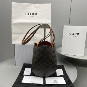 celine MARLOU TRIOMPHE artificial leather handbag 194982