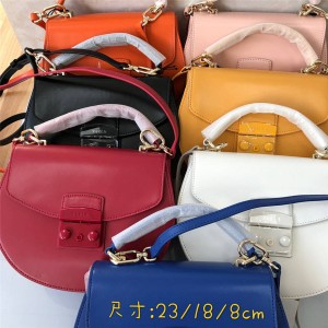 FURLA METROPOLIS small round bottom handbag