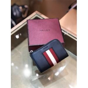 BALLY official website new stripe webbing key case
