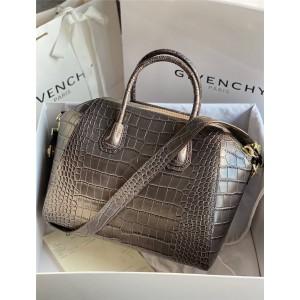 Givenchy women's bag crocodile pattern large Antigona tote handbag