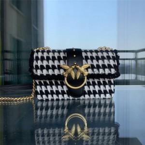 pinko woolen new one-shoulder messenger chain bag