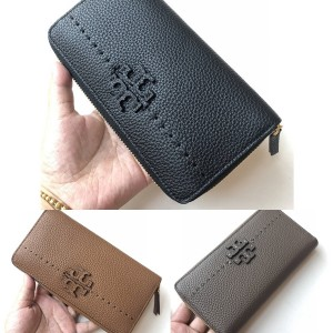 tory burch TB official website classic LOGO long leather wallet