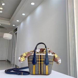 tory burch TB perry check mini handbag messenger bag