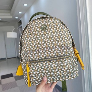 tory burch TB new piper printed nylon backpack