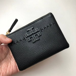 tory burch TB new LOGO zipper coin purse