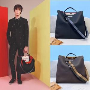 FENDI men's bag PEEKABOO X-LITE FIT briefcase 7VA447