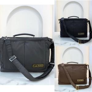 FENDI new nylon men's bag PEEKABOO handbag briefcase