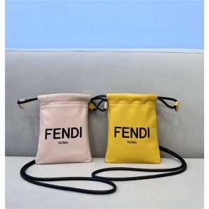 FENDI official website new PACK drawstring mobile phone bag