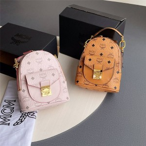 mcm official website new MINI Partricia Visetos backpack