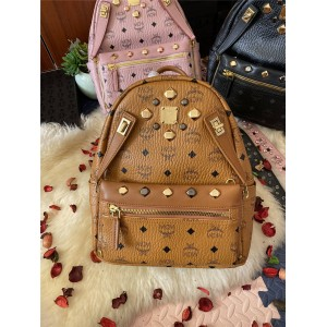 mcm rivet DUAL STARK backpack mother and child bag