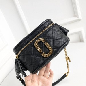 Marc Jacobs / MJ new cowhide diamond THESTATUS BAG belt bag