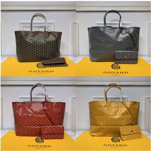 goyard new SAINT-LOUIS large shopping bag beach bag