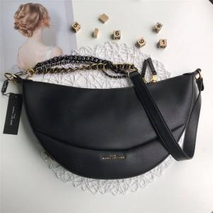 MARC JACOBS mj THE ECLIPSE shoulder chain crescent bag