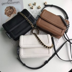 Marc Jacobs/mj new leather CUSHION small crossbody bag