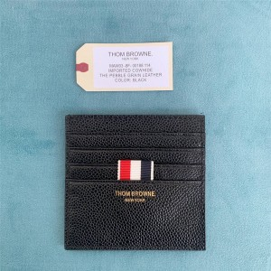 THOM BROWNE new men's multi-layer double-sided card holder