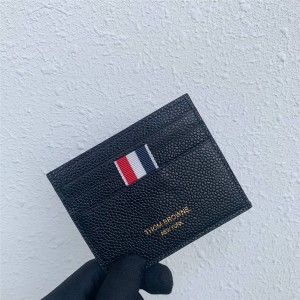 THOM BROWNE new men's short double-sided card holder