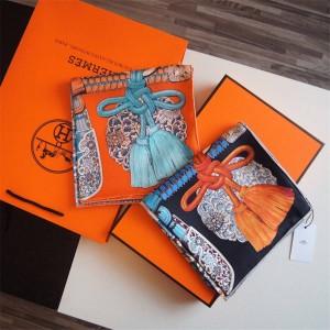 hermes official website new Japanese samurai silk print 90 cm square scarf