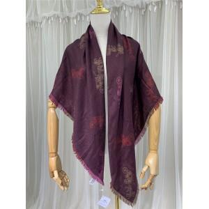 COACH new ladies classic carriage colorful pattern scarf big shawl F79746
