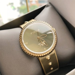 Pinko Lady's Garland Bezel Colorful Strap Quartz Watch