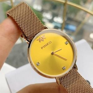 PINKO Lady's new EDURIS inlaid crystal quartz watch